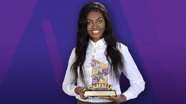 Chanel Barrett was named the 2021 Youth Achiever as part of the annual African-American Achievers awards program